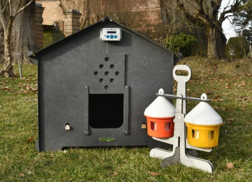 chicken coop for laying hens cucciolotta polly gothique